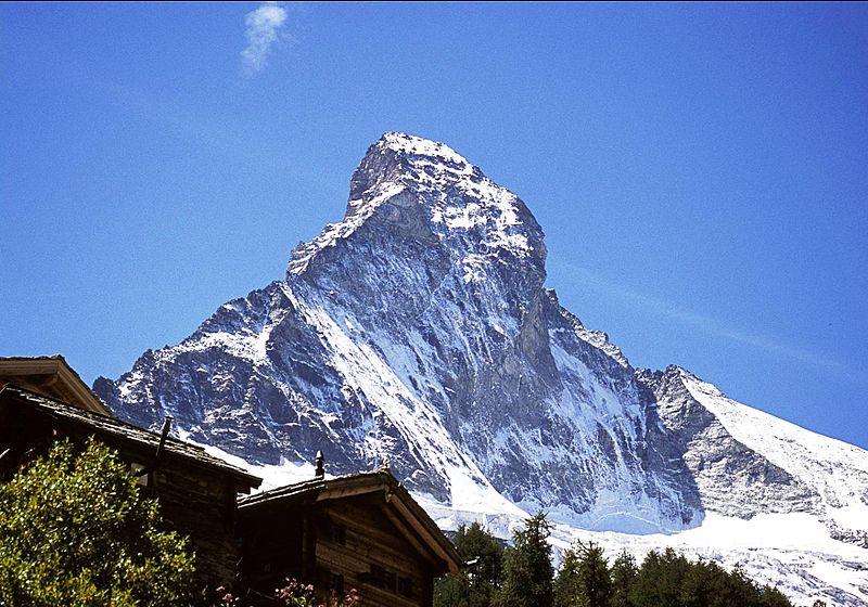 Fotografie des Matterhorn zur Illustration des Beitrags: Vorlesungsaufzeichnung mit Matterhorn.