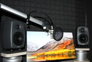 Nahe Aufnahme des Tonstudios an der ZEWK