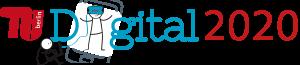 Logo mit Schriftzug TU Digital 2020