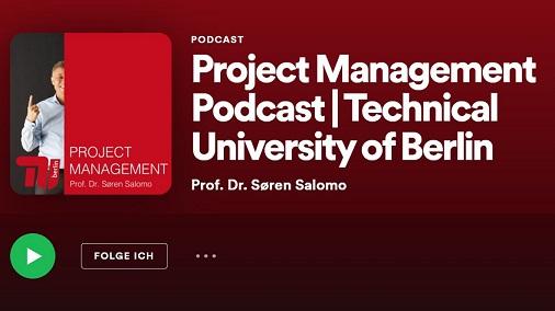 Lunch für gute Lehre. Titelbild: Podcast Project Management von Prof. Dr. Soren Salomo